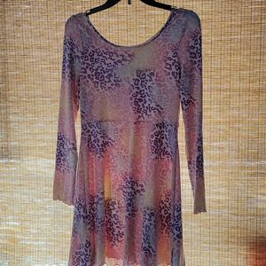 NWT Epic Threads pink and purple floral dress